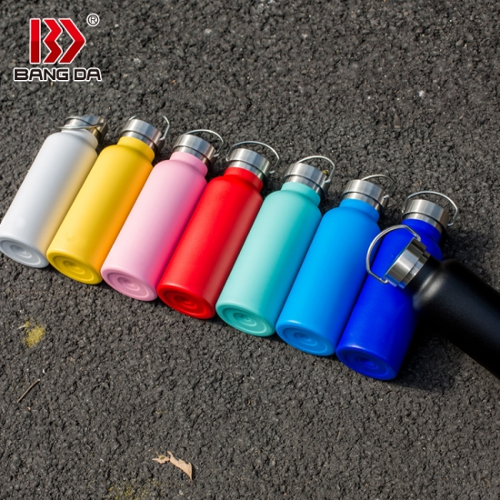 Stainless Steel Double Walled  Insulated Vacuum Bottle